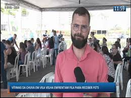 Queue for rain victims in Vila Velha to receive FGTS