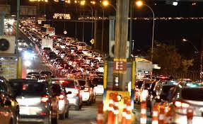 Accident on the Third Bridge causes congestion in Vitória and Vila Velha