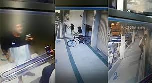 VIDEO | Couple breaks into building gate and steals bicycle in Vila Velha